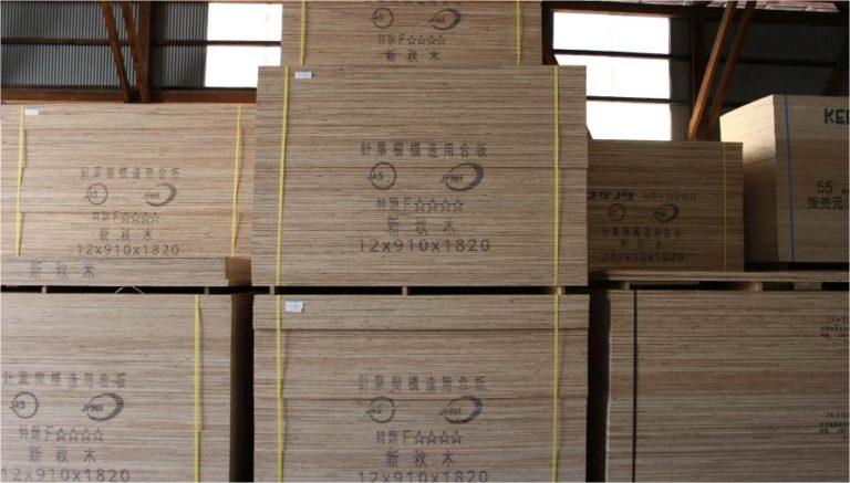 材木の在庫 国産ベニア_合板_コンパネ